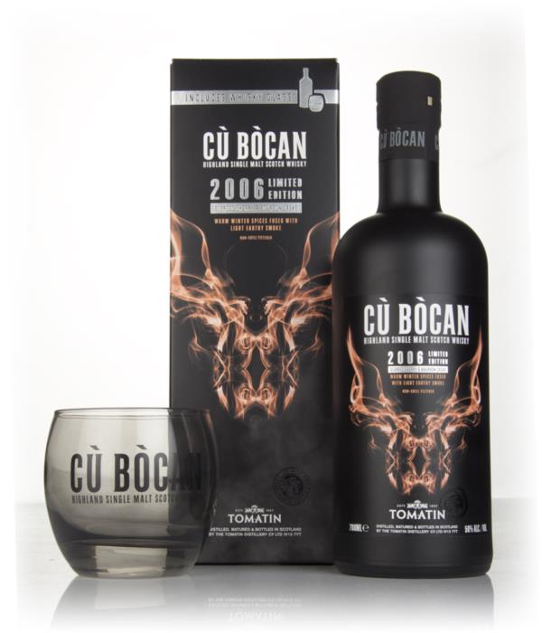 Tomatin Cu Bocan 2006 Vintage Limited Edition with Glass Single Malt Whisky