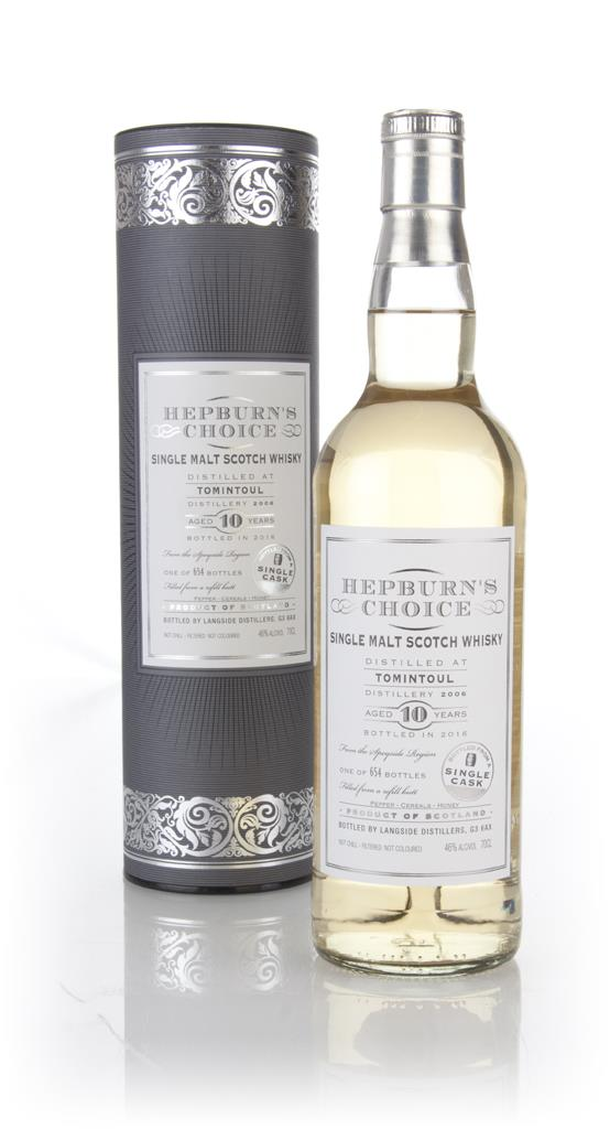 Tomintoul 10 Year Old 2006 - Hepburns Choice (Langside) Single Malt Whisky