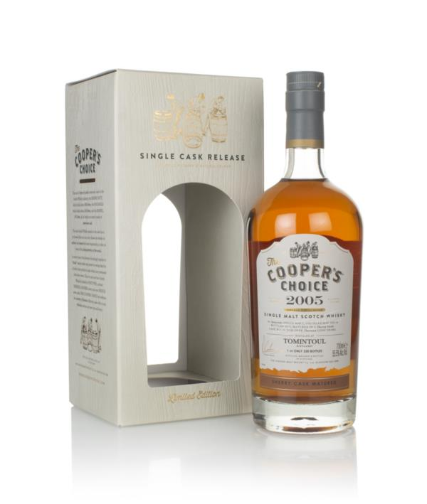 Tomintoul 13 Year Old 2005 (cask 10) - The Cooper's Choice (The Vintag Single Malt Whisky