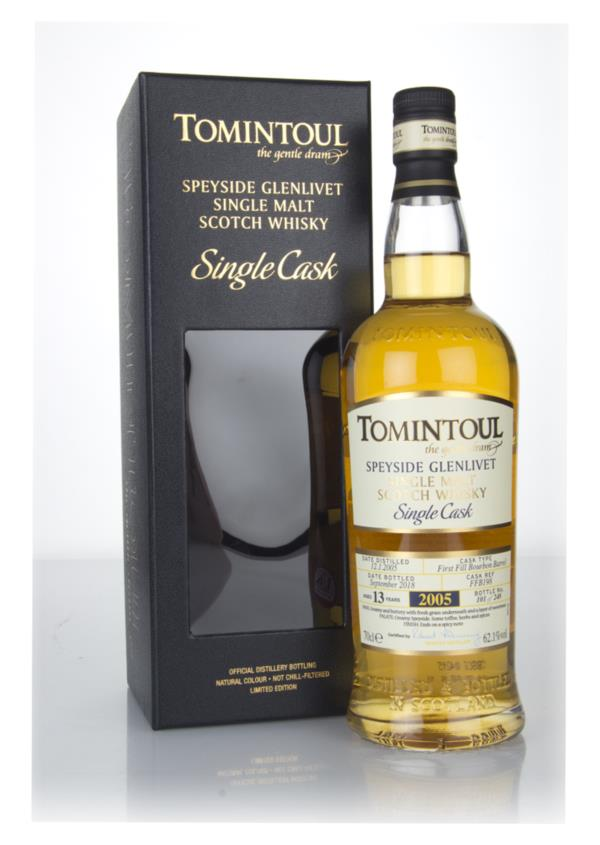 Tomintoul 13 Year Old Bourbon Cask #FFB198 Single Malt Whisky