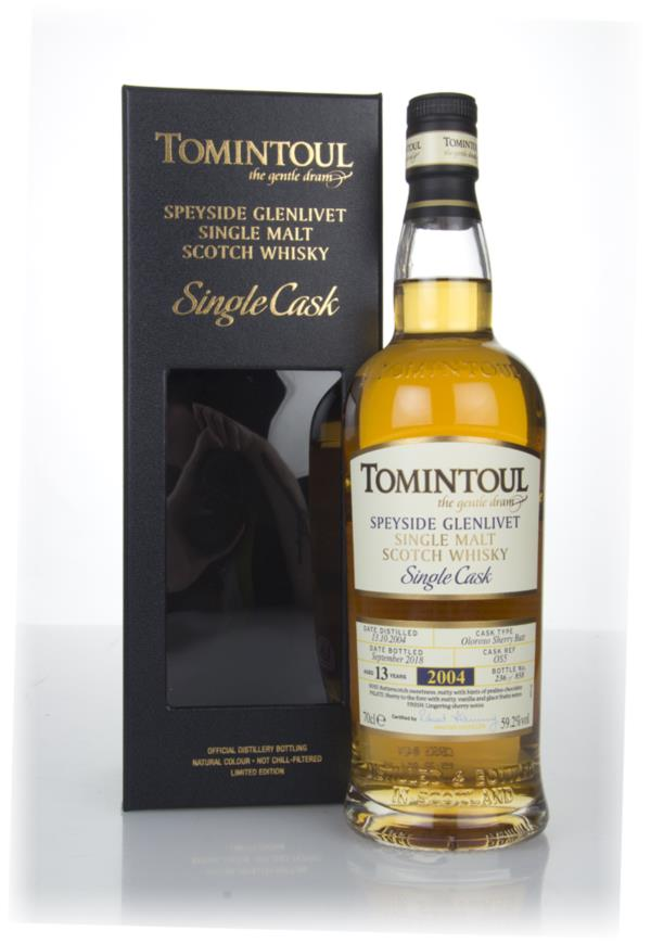 Tomintoul 13 Year Old Sherry Cask #OS5 Single Malt Whisky