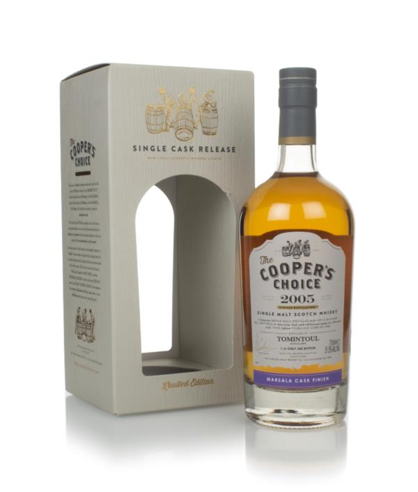 Tomintoul 15 Year Old 2005 (cask 9388) - The Coopers Choice (The Vint Single Malt Whisky