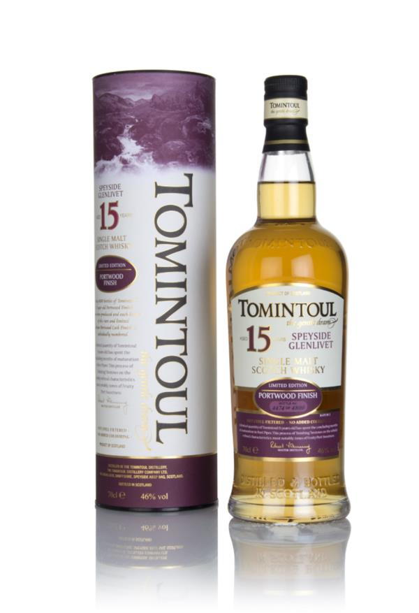 Tomintoul 15 Year Old Portwood Finish Single Malt Whisky
