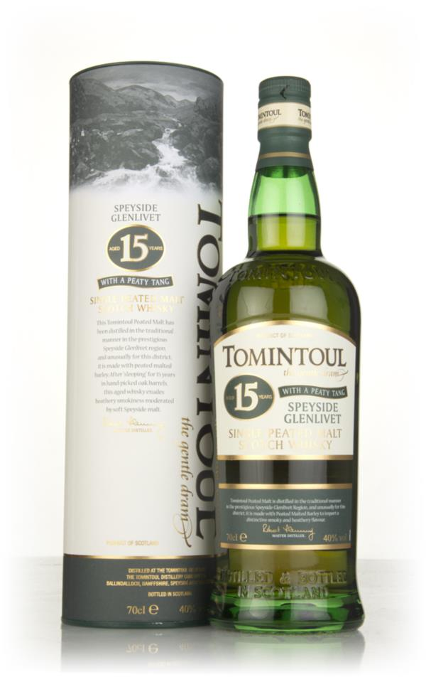 Tomintoul 15 Year Old with a Peaty Tang Single Malt Whisky