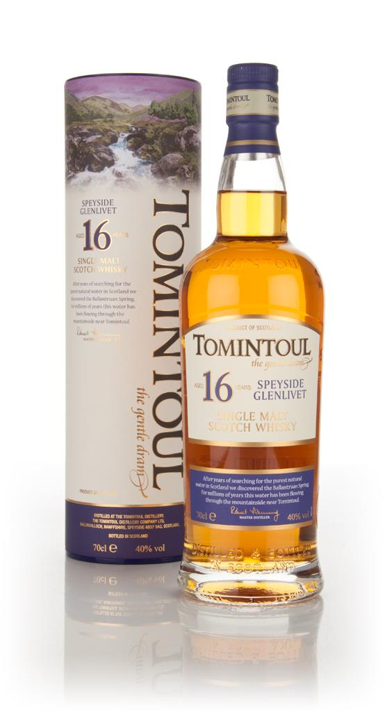 Tomintoul 16 Year Old Single Malt Whisky