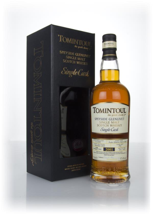 Tomintoul 17 Year Old Sherry Cask #PX1 Single Malt Whisky