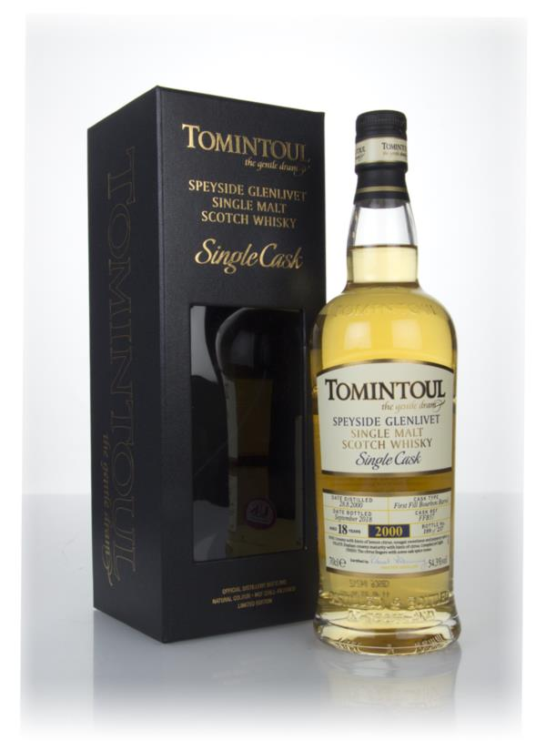 Tomintoul 18 Year Old Bourbon Cask #37 Single Malt Whisky