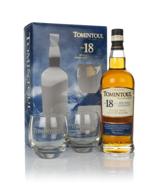 Tomintoul 18 Year Old Gift Pack with 2x Glasses Single Malt Whisky