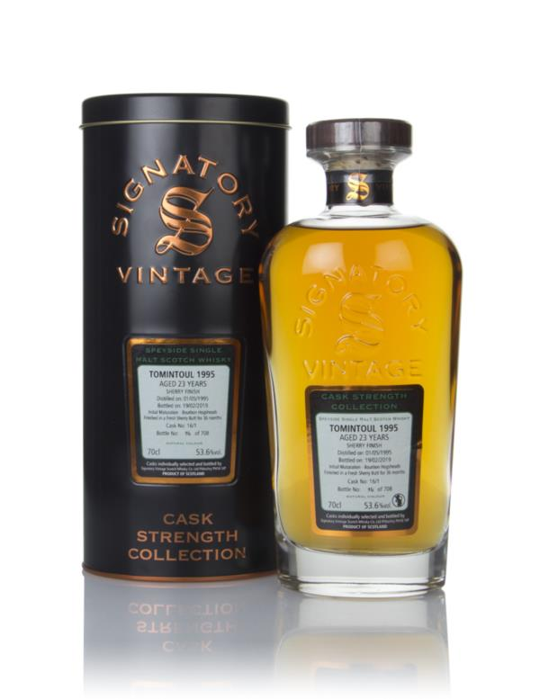 Tomintoul 23 Year Old 1995 (cask 16/1) - Cask Strength Collection (Sig Single Malt Whisky