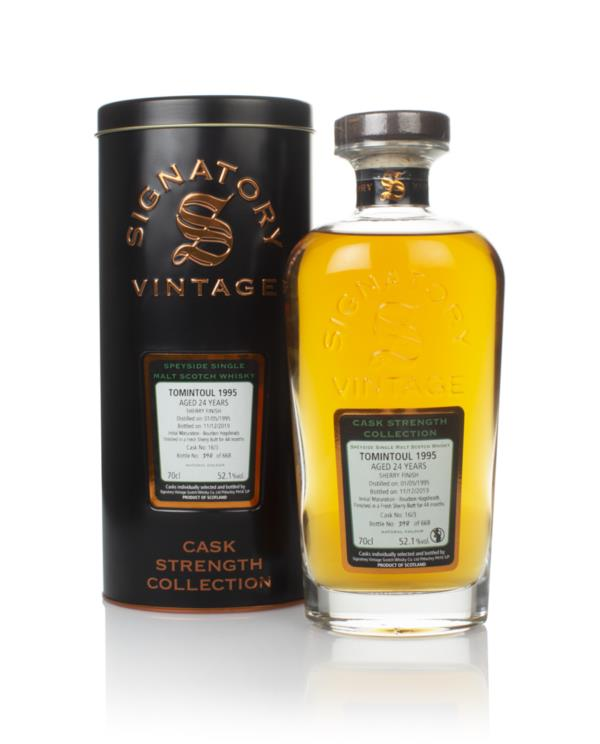 Tomintoul 24 Year Old 1995 (cask 16/3) - Cask Strength Collection (Sig Single Malt Whisky
