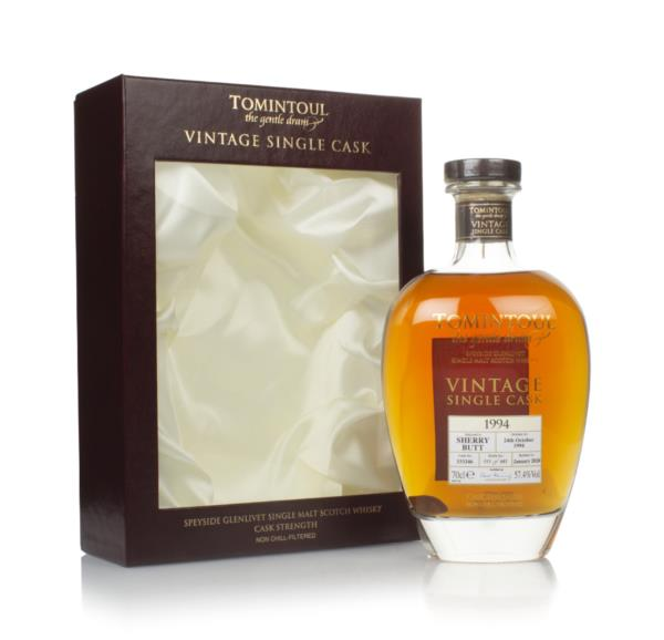 Tomintoul 25 Year Old 1994 (cask 333346) - Vintage Single Cask Single Malt Whisky