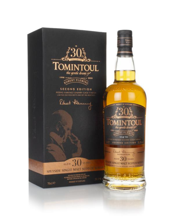Tomintoul 30 Year Old - Robert Fleming 30th Anniversary (2nd Edition) Single Malt Whisky