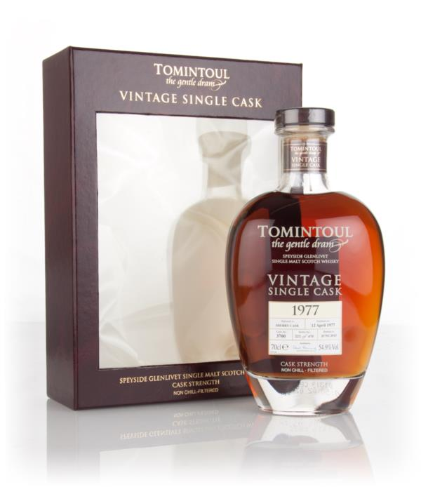 Tomintoul 38 Year Old 1977 (cask 3700) - Vintage Single Cask 3cl Sampl Single Malt Whisky 3cl Sample