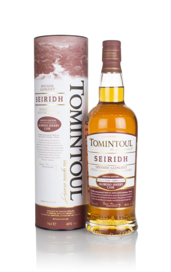 Tomintoul Seiridh Single Malt Whisky