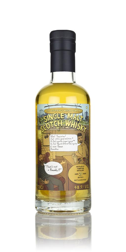 Tomintoul 21 Year Old (That Boutique-y Whisky Company) Single Malt Whisky