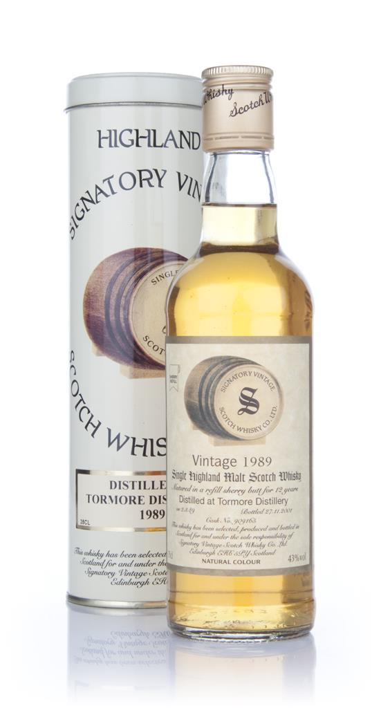 Tormore 1989 35cl - Signatory Single Malt Whisky