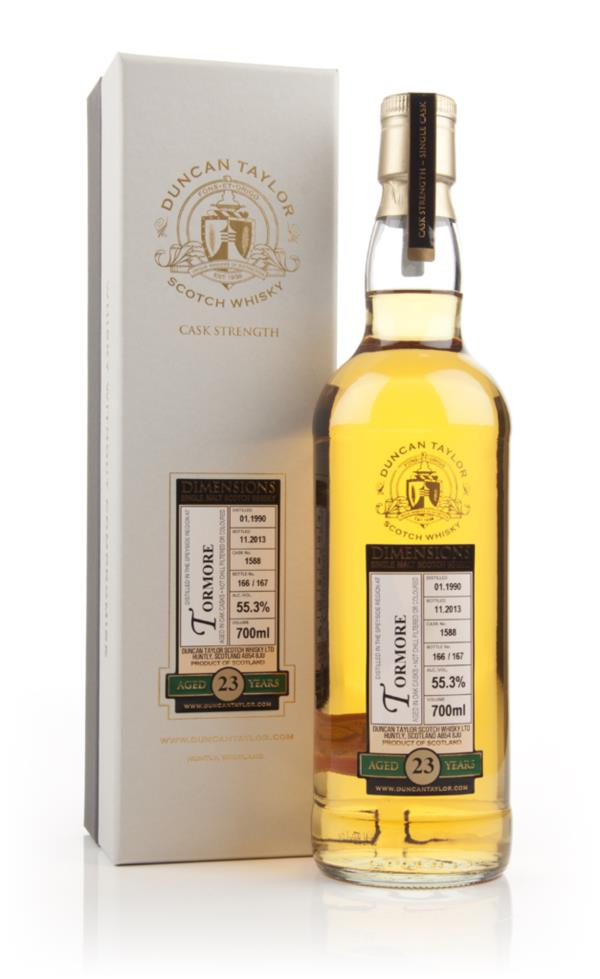 Tormore 23 Year Old 1990 (cask 1588) - Dimensions (Duncan Taylor) 3cl Single Malt Whisky 3cl Sample