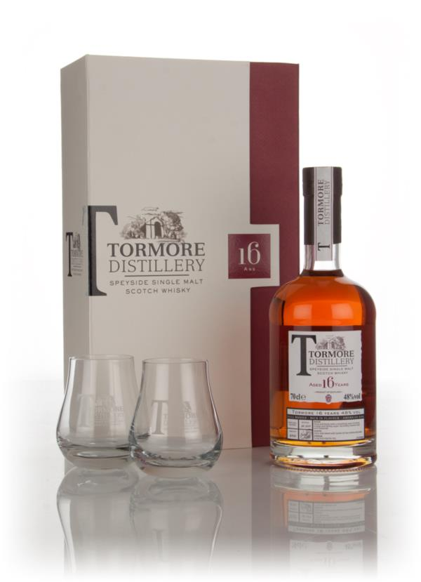 Tormore 16 Year Old with 2x Tasting Glasses Single Malt Whisky