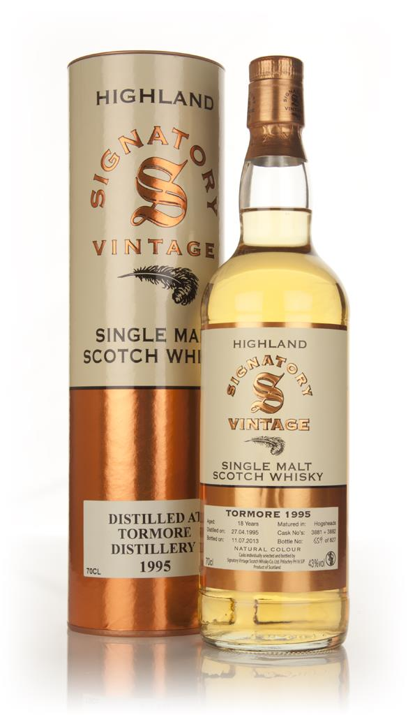Tormore 18 Year Old 1995 (Casks 3881+3882) - (Signatory) Single Malt Whisky