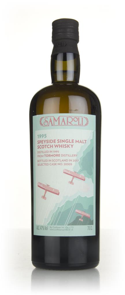 Tormore 1995 (bottled 2017) (cask 20305) - Samaroli Single Malt Whisky