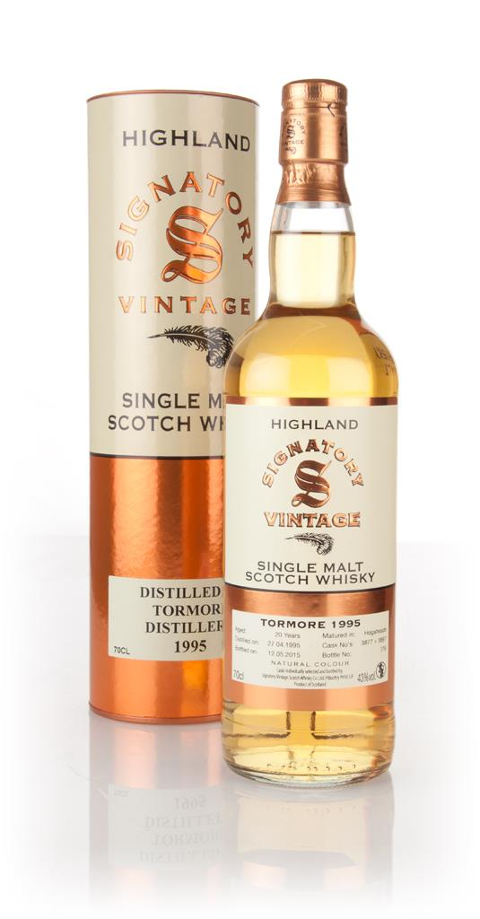 Tormore 20 Year Old 1995 (cask 3877 + 3887) (Signatory) Single Malt Whisky