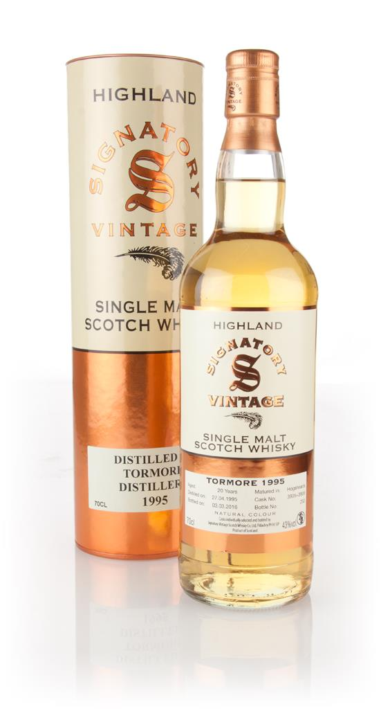 Tormore 20 Year Old 1995 (cask 3905 & 3906) (Signatory) Single Malt Whisky
