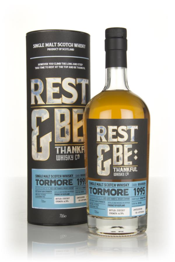 Tormore 21 Year Old 1995 (cask 20100) (Rest & Be Thankful) Single Malt Whisky