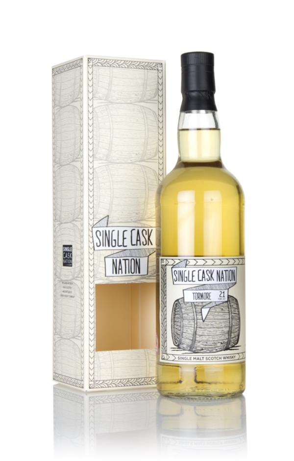 Tormore 21 Year Old 1996 (Single Cask Nation) Single Malt Whisky