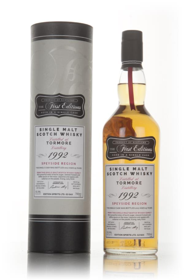 Tormore 25 Year Old 1992 (cask 13311) - The First Editions (Hunter Lai Single Malt Whisky