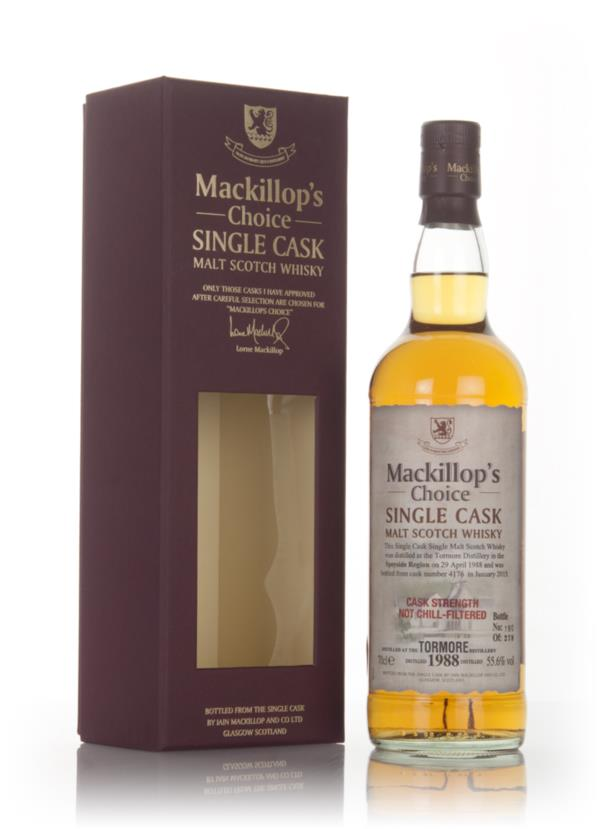Tormore 26 Year Old 1988 (cask 4176) - Mackillops Choice Single Malt Whisky
