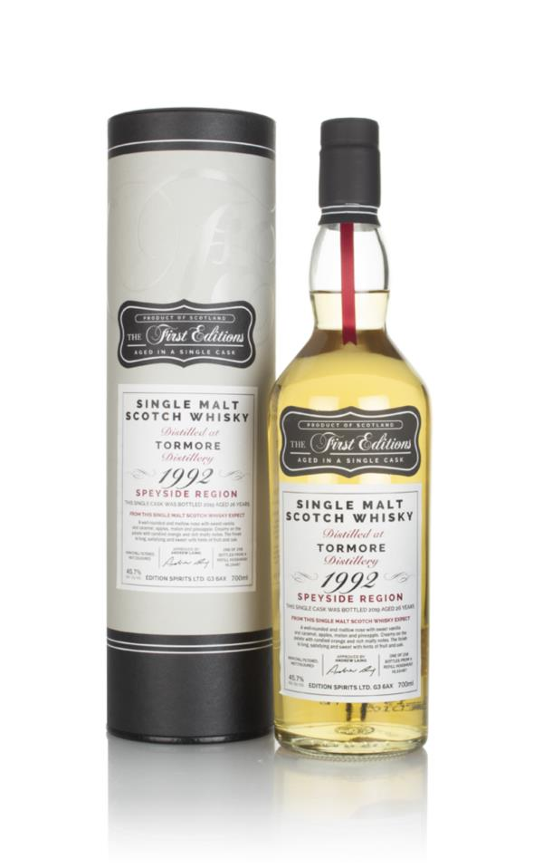Tormore  26 Year Old 1992 (cask 16487) - The First Editions (Hunter La Single Malt Whisky