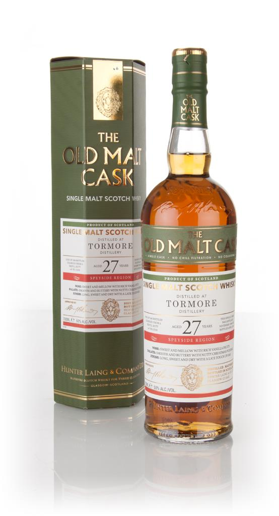 Tormore 27 Year Old 1988 (cask 12239) - Old Malt Cask (Hunter Laing) Single Malt Whisky