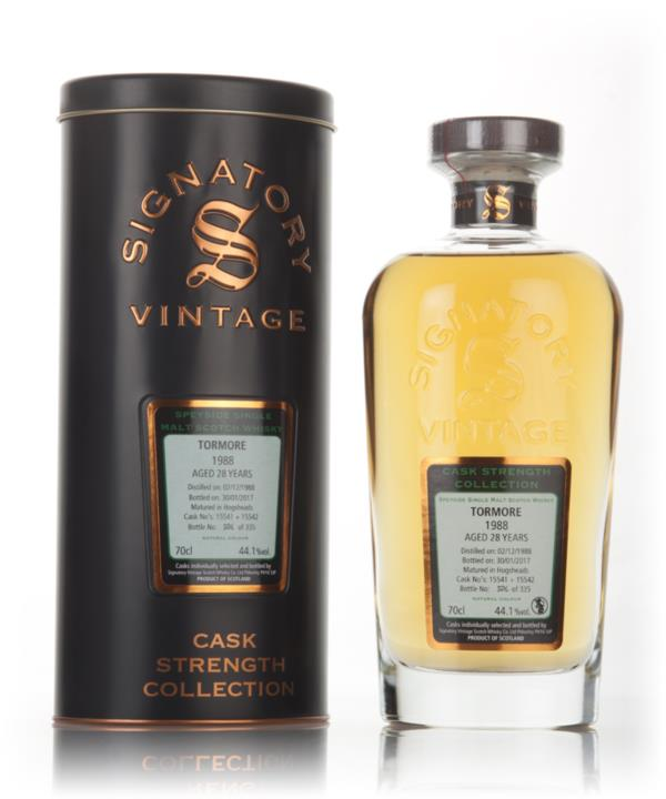 Tormore 28 Year Old 1988 (cask 15541 & 15542) - Cask Strength Collecti Single Malt Whisky