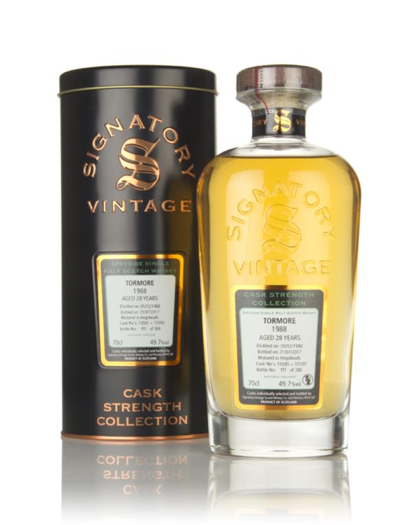 Tormore 28 Year Old 1988 (casks 15585 & 15590) - Cask Strength Collect Single Malt Whisky