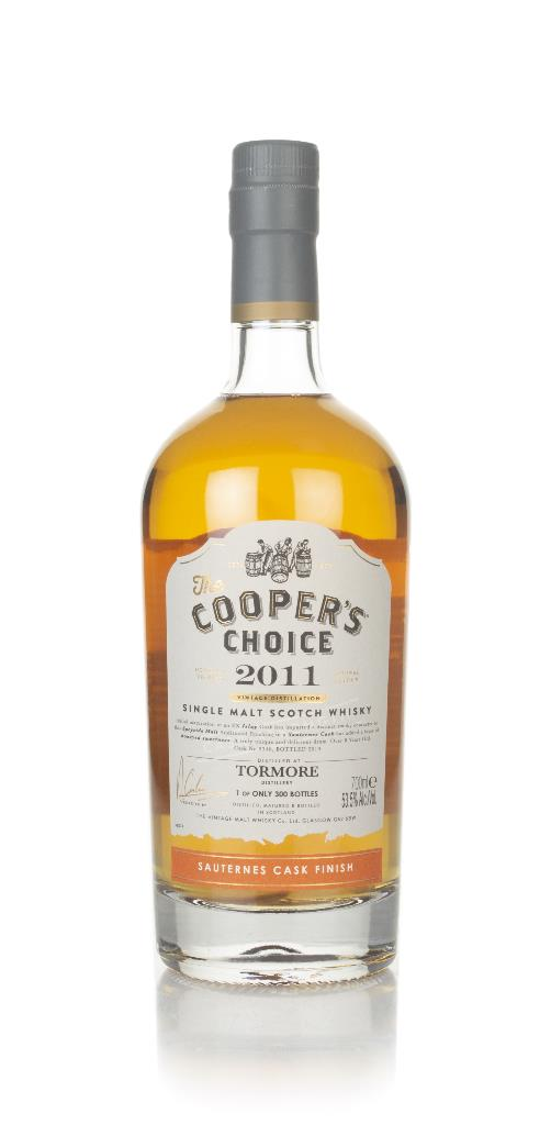 Tormore 8 Year Old 2011 (cask 9340) - The Cooper's Choice (The Vintage Single Malt Whisky