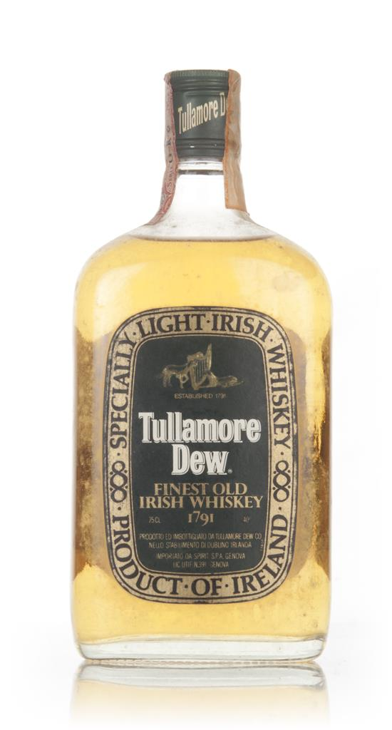 Tullamore Dew - 1970s Blended Whiskey