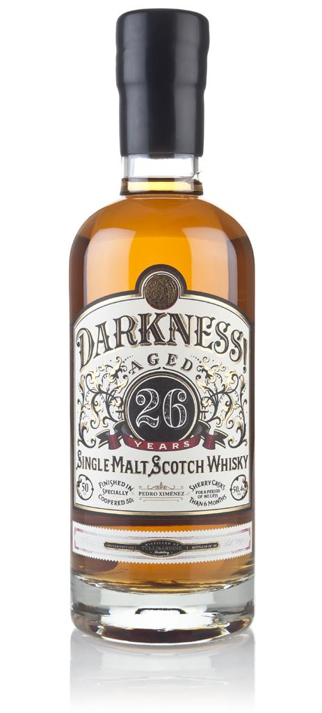 Darkness! Tullibardine 26 Year Old Pedro Ximenez Cask Finish 3cl Sampl Single Malt Whisky 3cl Sample
