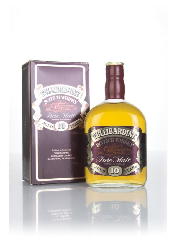 Tullibardine 10 Year Old - 1980s Single Malt Whisky