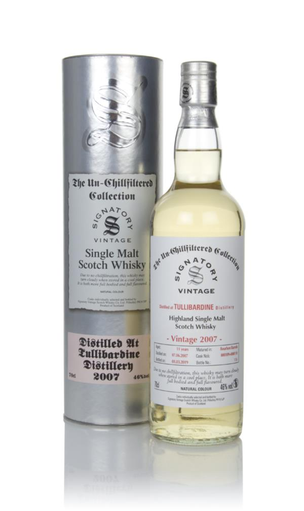 Tullibardine 11 Year Old 2007 (casks 800109 & 800110) - Un-Chillfilter Single Malt Whisky