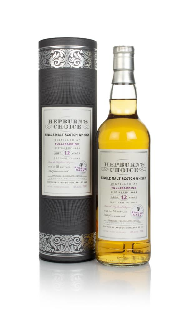 Tullibardine 12 Year Old 2008 - Hepburns Choice (Langside) Single Malt Whisky