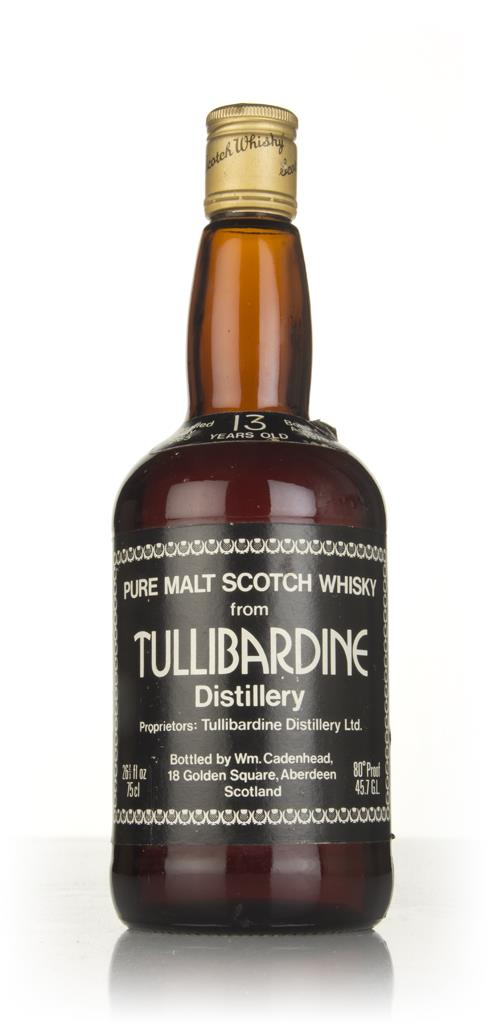 Tullibardine 13 Year Old 1965 (WM Cadenhead) Single Malt Whisky