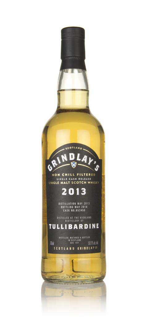 Tullibardine 2013 (bottled 2018) (cask 653450) (Scotland Grindlay) Single Malt Whisky