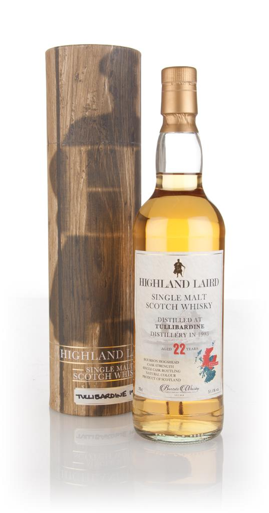 Tullibardine 22 Year Old 1993 - Highland Laird (Bartels Whisky) Single Malt Whisky