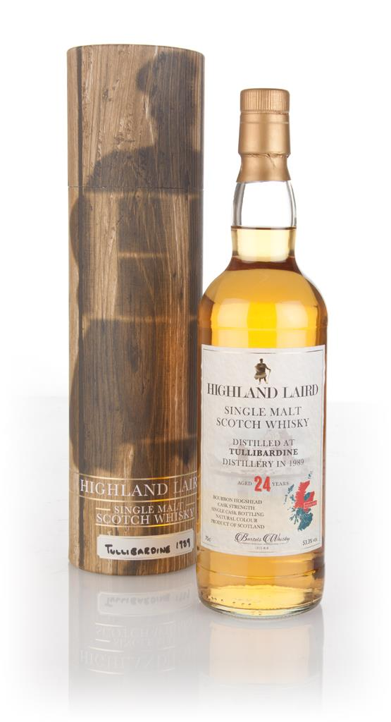 Tullibardine 24 Year Old 1989 - Highland Laird (Bartels Whisky) Single Malt Whisky