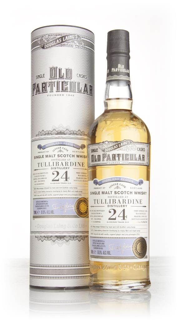 Tullibardine 24 Year Old 1993 (cask 12026) - Old Particular (Douglas L Single Malt Whisky