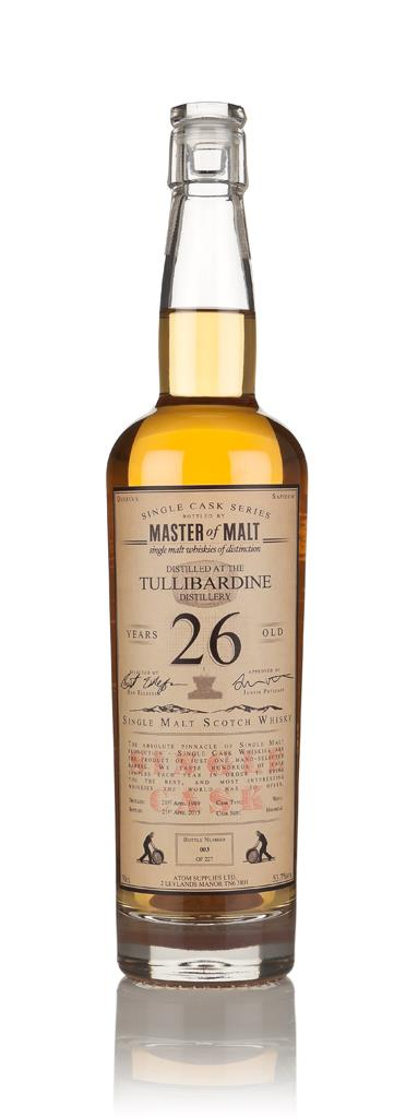 Tullibardine 26 Year Old 1989 - Single Cask (Master of Malt) 3cl Sampl Single Malt Whisky