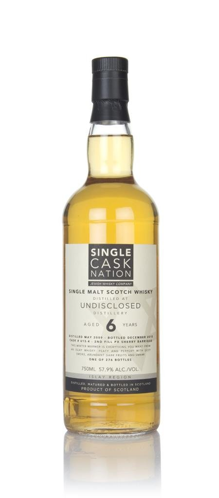 Undisclosed 6 Year Old 2009 (Single Cask Nation) Single Malt Whisky
