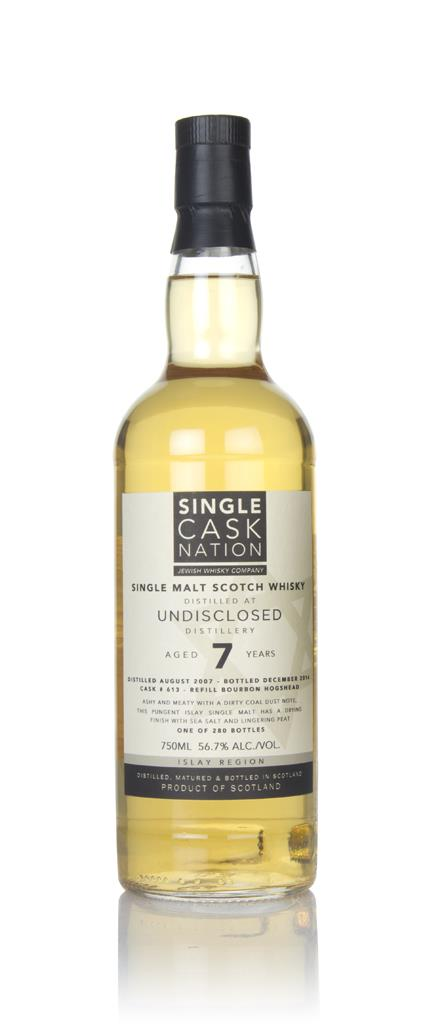 Undisclosed Islay 7 Year Old 2007 (Single Cask Nation) Single Malt Whisky