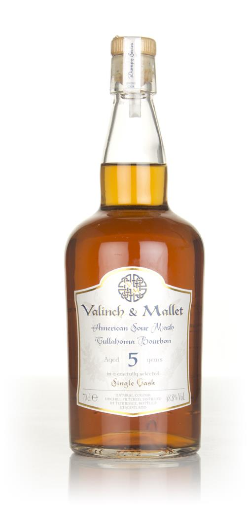 Valinch & Mallet American Sour Mash Tullahoma Bourbon 5 Year Old Bourbon Whisky