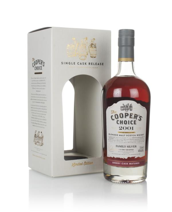 Family Silver 19 Year Old 2001 (cask 4630) - The Cooper's Choice (The Blended Malt Whisky